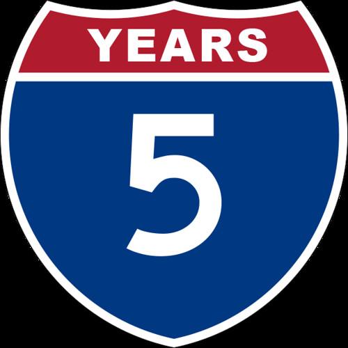 5YEARS