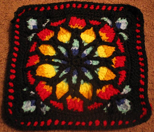 STAINED GLASS CROCHET PATTERN