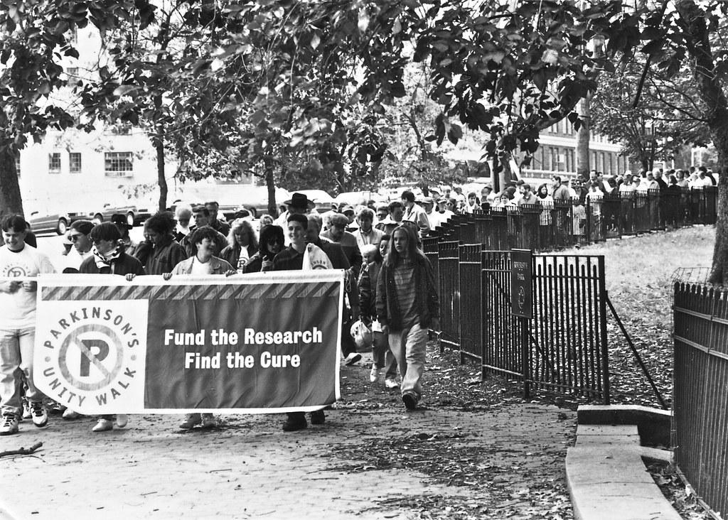 Parkinson's Unity Walk in Riverside Park