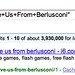 Berlusconi on Google URLs?