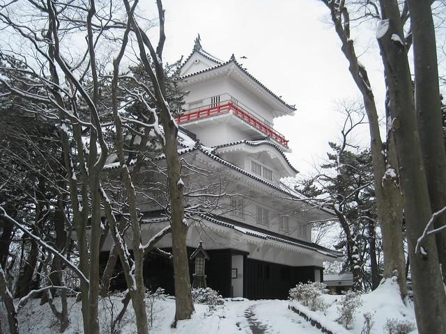 Akita Castle in Senshu Park