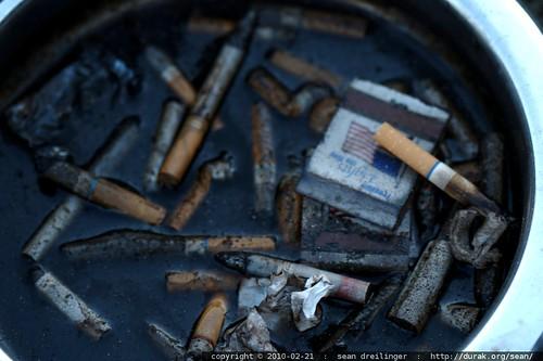 patriotic ashtray