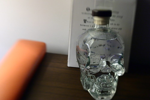 Crystal Head on Bar