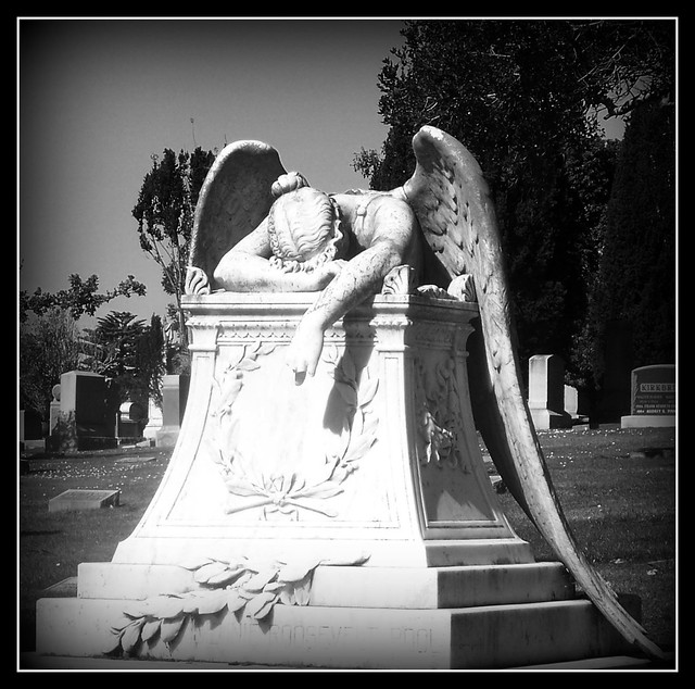 Angel of Grief from Flickr via Wylio