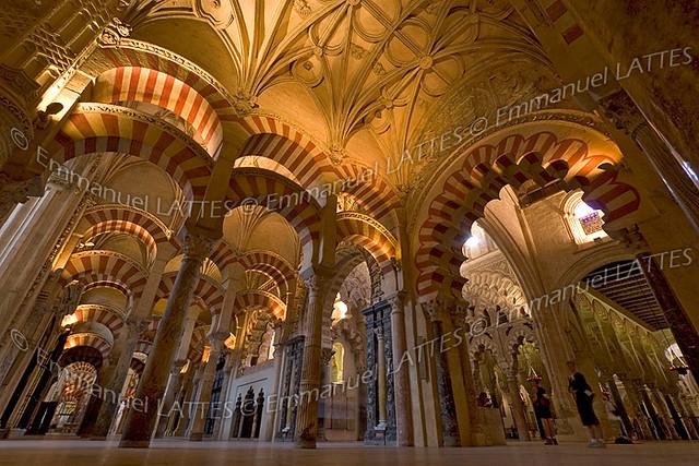 Mezquita ou grande mosqu e de cordoue andalousie espagne for Architecture andalouse