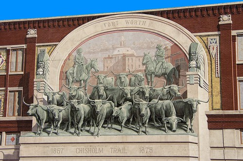 Fort Worth Chisholm Trail Mural