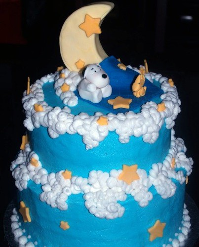 baby snoopy cake flickr photo sharing