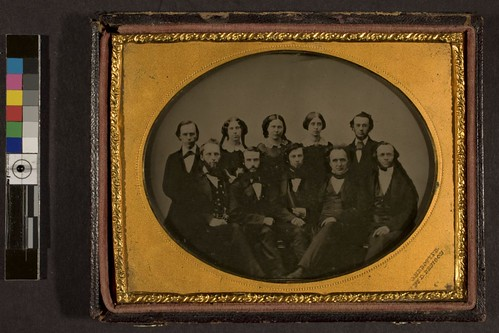 Group portrait. May be faculty of Albany Normal School.