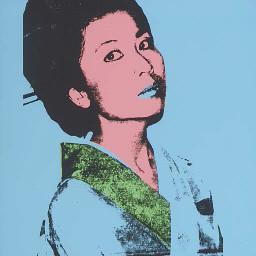 Andy Warhol Kimiko: Ken C. Arnold Art Collection