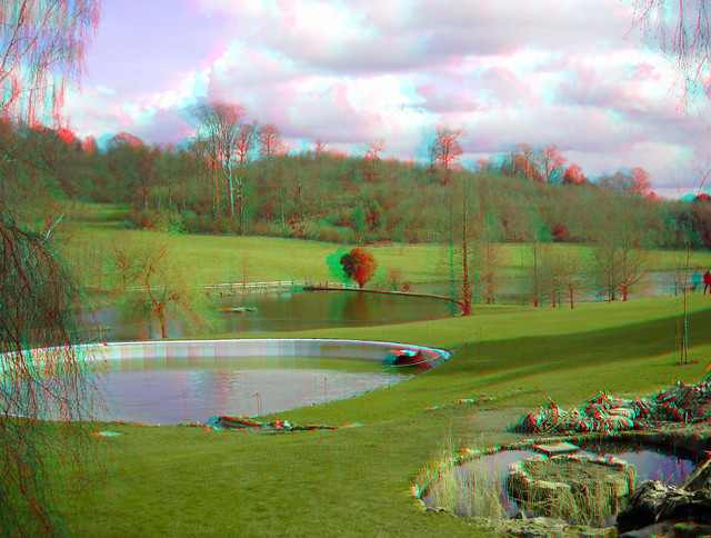 Sir Winston Churchills Outdoor Pool At Chartwell In 3d Flickr Photo Sharing