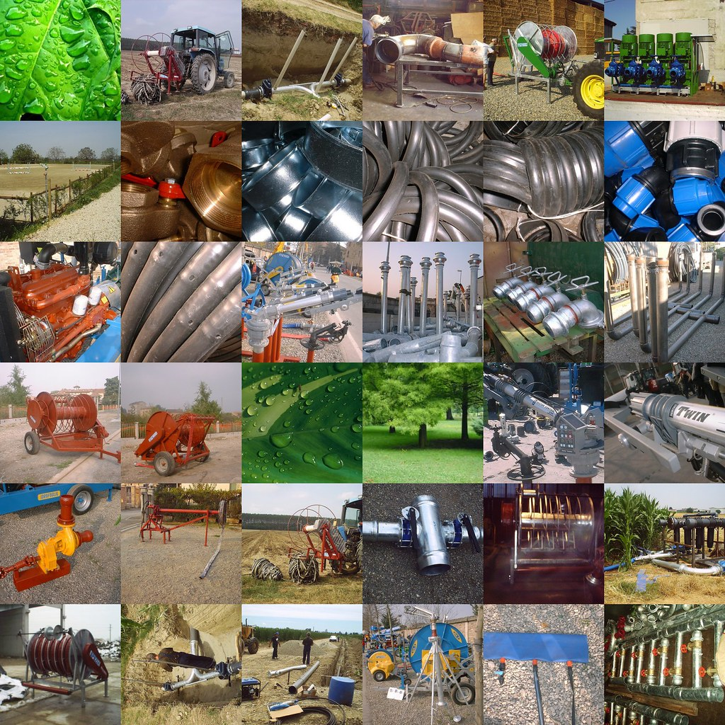 Sistemi di irrigazione dal 1930 for Sistemi di irrigazione