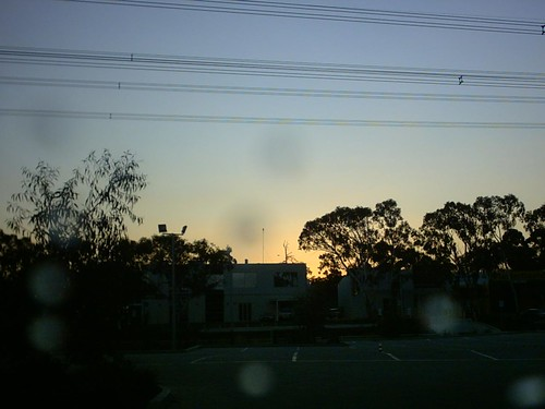 Day 93- 3-4-2010 - One picture a day- Camera test- Sunset