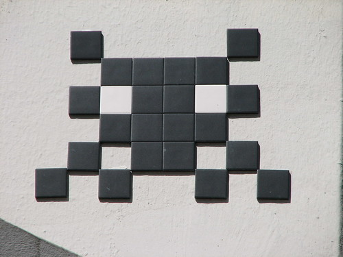 Space Invader PA_831 : Paris 20eme