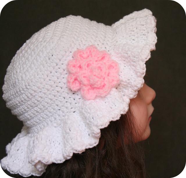 Free Crochet Pattern For Easter Bonnet : Easter Bonnet Hat Crochet Pattern Flickr - Photo Sharing!