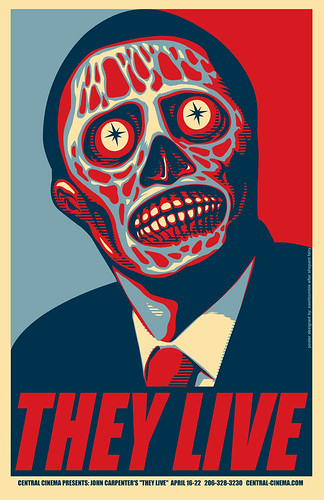 They Live poster Marc Palm
