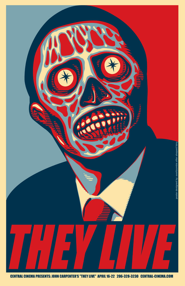 They Live poster Marc Palm | Flickr - Photo Sharing!