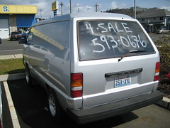 Toyota Van - For Sale