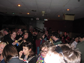 Crowd of cupcake lovers