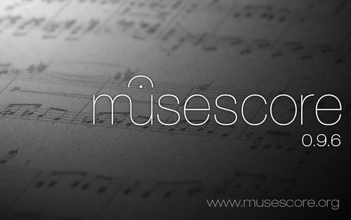 Splash screen MuseScore 0.9.6