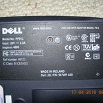 Dell Laptop Inspiron  4000 PP01L BIOS battery swap DSCN2352