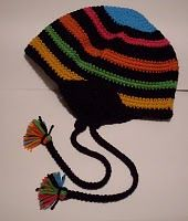 I need a pattern for a chullo hat - the kind with the ear flaps