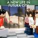 Futura City Advert: Shuttle by Johŋ