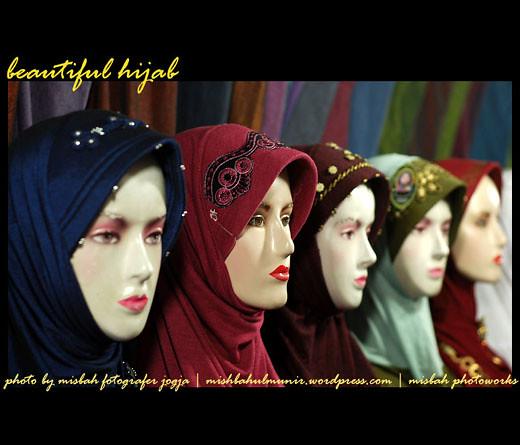 Foto Model Jilbab Busana Muslimah Cantik - Beautiful Hijab by