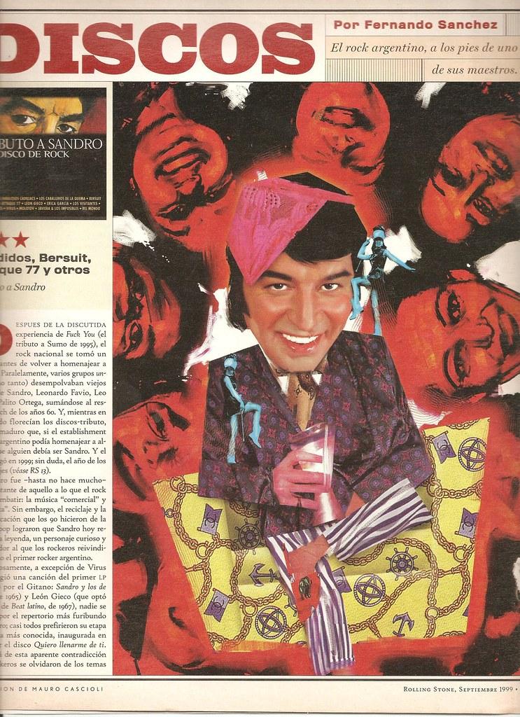 tributo a sandro critica en Rolling Stone