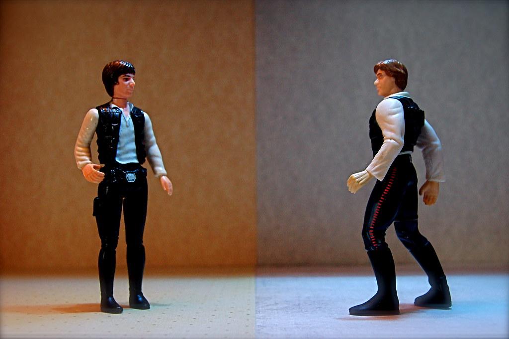 Han Solo vs. Han Solo Special Edition (124/365)