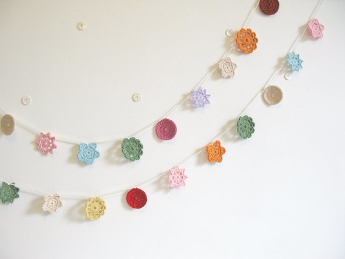 summer garlands...