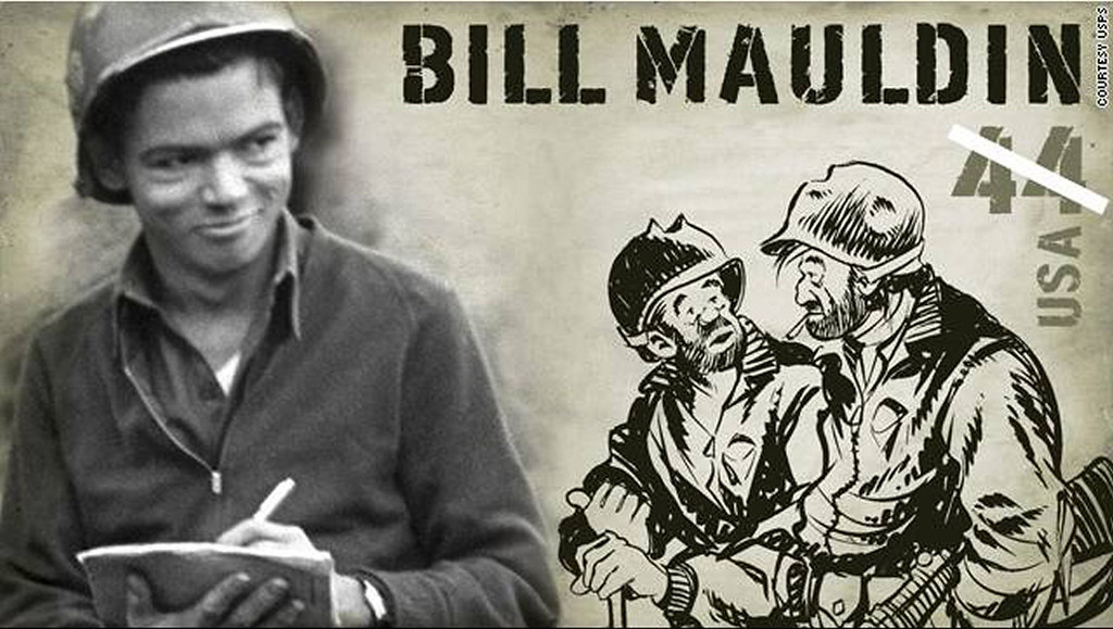BILL MAULDIN STAMP ...