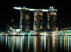 Moshe Safdie's Marina Bay Sands