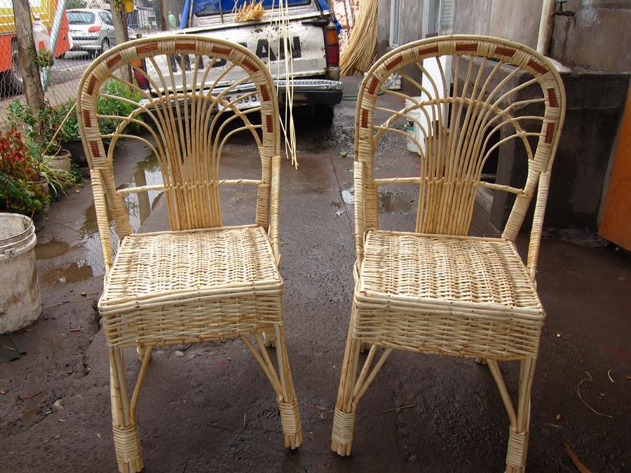 Sillas de mimbre silla hevea n sillas heamana sillitas for Sillas mimbre comedor