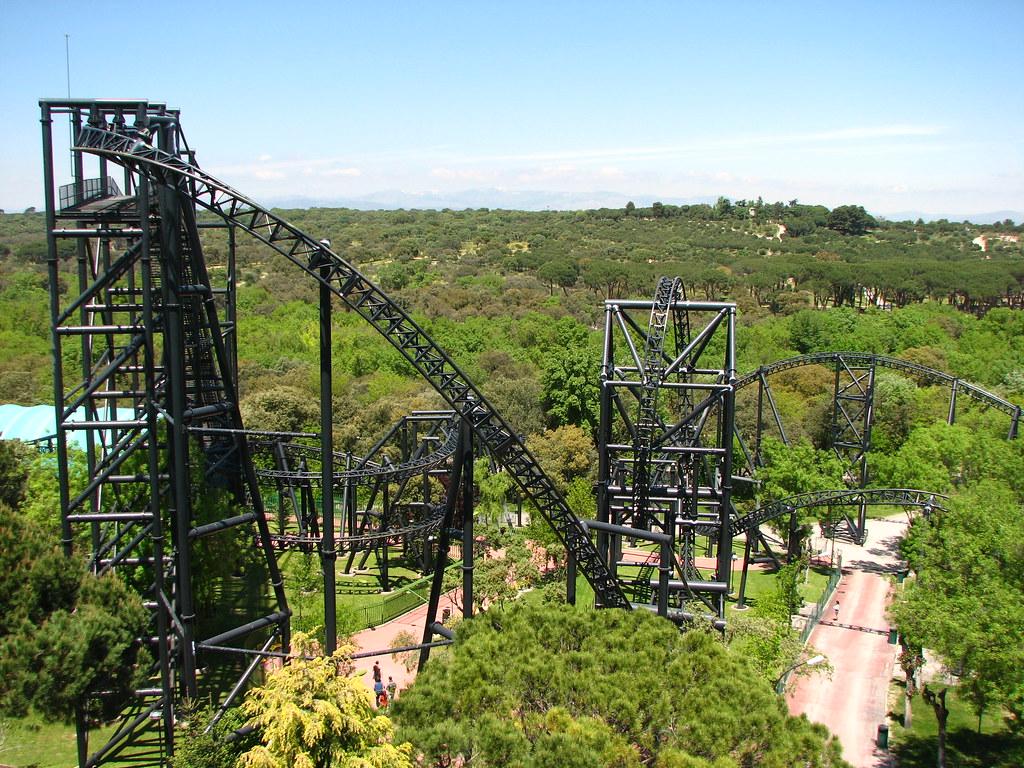 Tornado - Parque de Atracciones Madrid