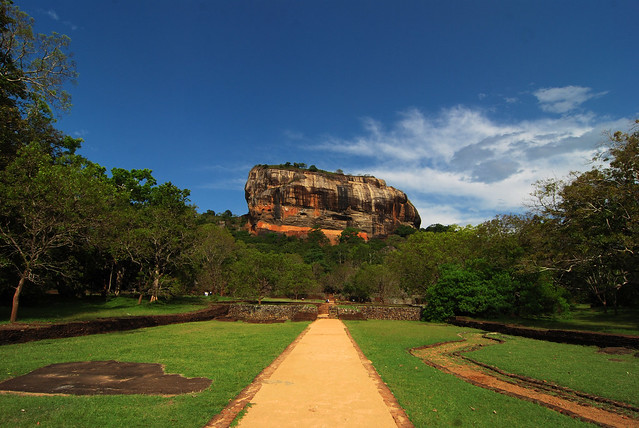 Sigiriya Fortress in Sri Lanka