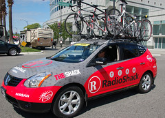 Radio Shack Team Car