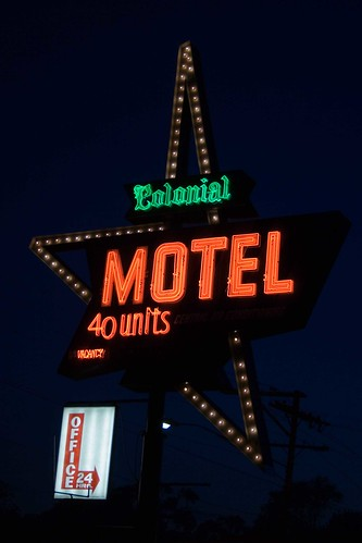 The Colonial Motel-Elgin, IL by William 74