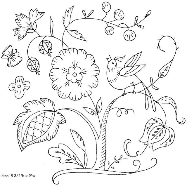 Crewel Embroidery 1975 B