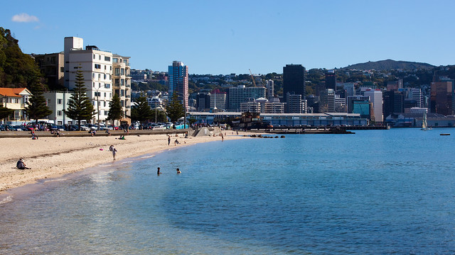 Oriental Bay and Beach