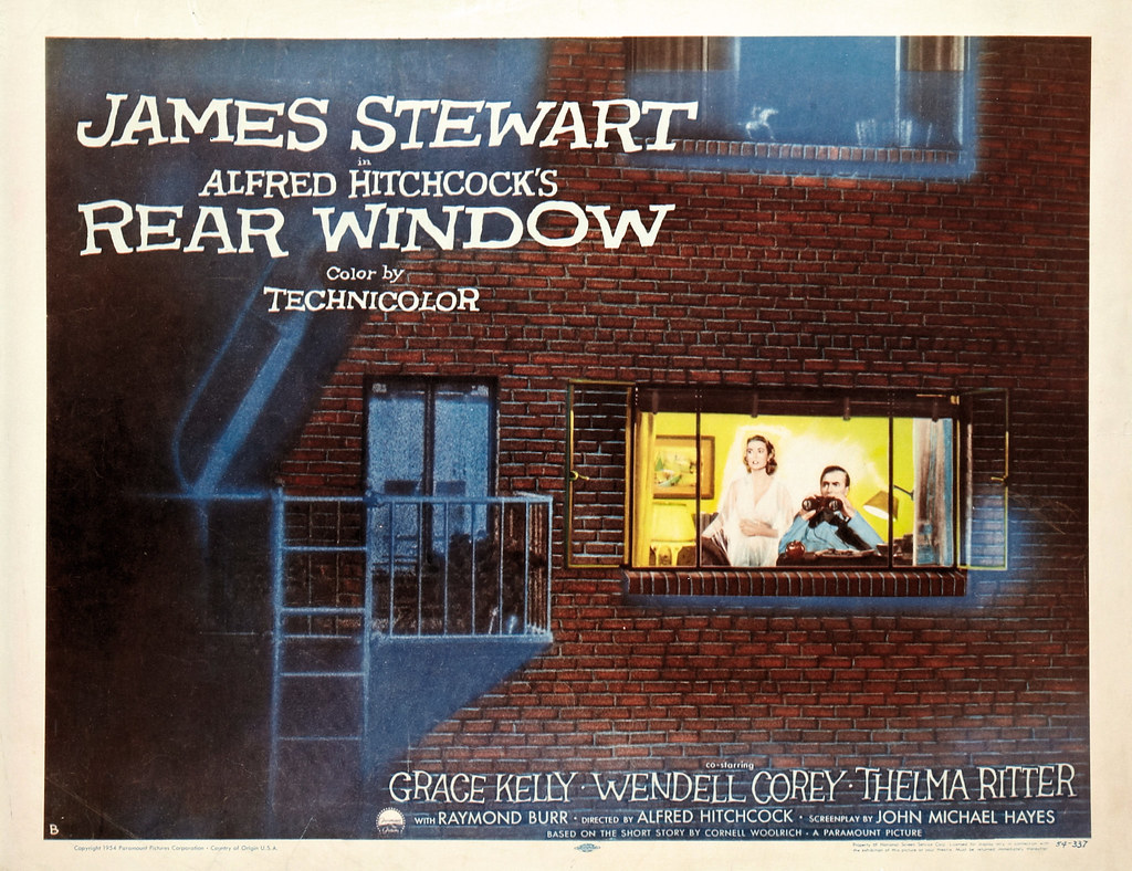 Rear window 1954 poster a photo on flickriver for 1954 rear window