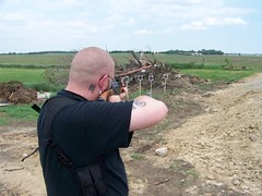 soil, weapon, shooting, trap shooting, shooting range, firearm,