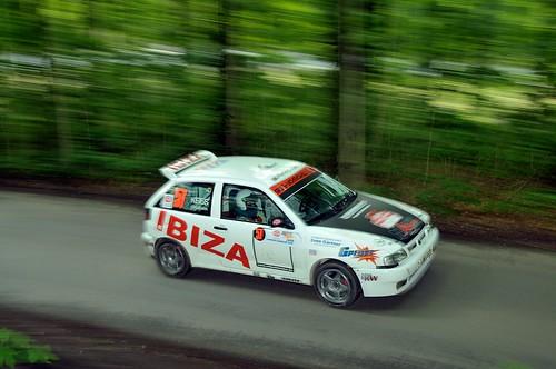Lars Uhlmann und Ramona Kees auf Seat Ibiza