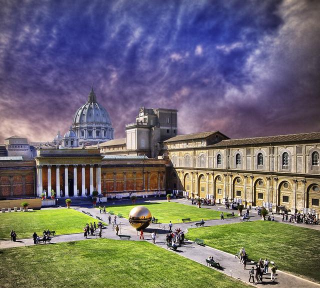 Jardines del Vaticano.