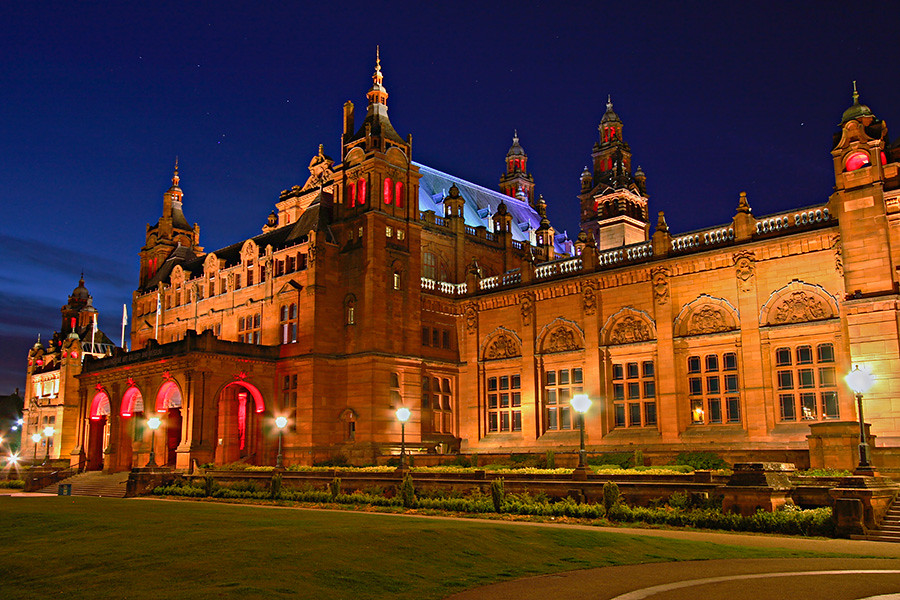Kelvingrove Museum at Night