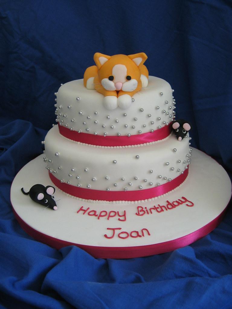 Cat Shaped Birthday Cake Ideas