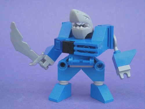 Battle Beasts Shark guy