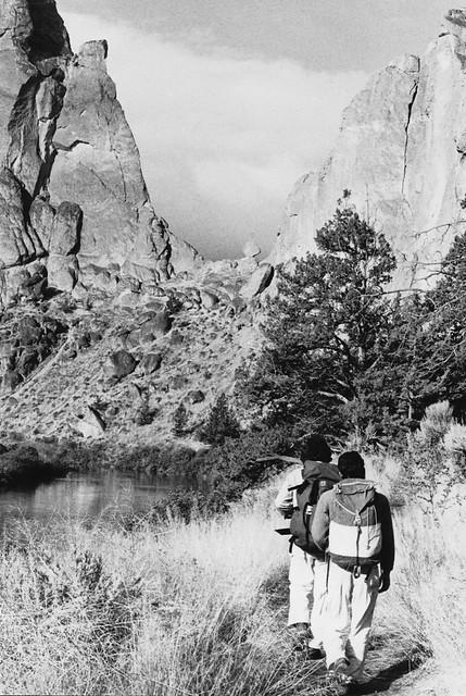 Heading toward Asterisk Pass, 1978