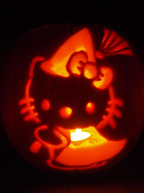 Hello Kitty Jack O Lantern Flickr Photo Sharing