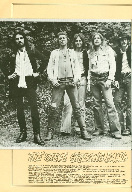1975 - Who, The - European Tour - Opener Steve Gibbons Band - Side 21