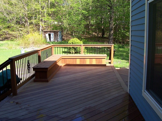 Deck Seating Ideas http://www.flickr.com/photos/deckorators/5158074755/